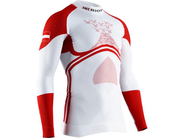 X-Bionic Energy Accumulator 4.0 Patriot T-shirt Manches longues Col roulé Homme, austria